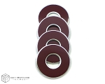 Maroon-Wine VVashers™ - Set of 4